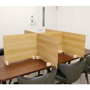 卓上木製パーティションコロナウイルス飛沫感染防止対策 サイズを選べる 日本製 kkkez|himalaya