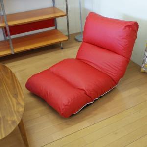 日本製レザー調ジャンボ座椅子|himalaya