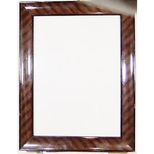 額縁 外寸 24.4x30.7x1.6cm 内寸 18.2x24.5cm 木製 ガラス付き 掘出し市 Ff02|himalj