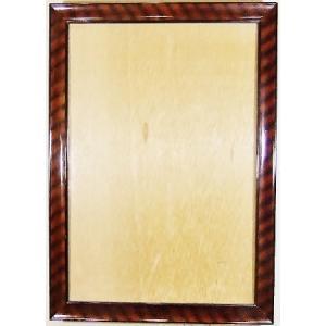 額縁 外寸 36.8x50.5x1.5cm 内寸 30.5x44.3cm 木製 ガラス付き 掘出し市 Ff08|himalj