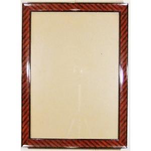 額縁 外寸36.6x48.7x1.5cm 内寸 30.5x42.7cm 木製 ガラス付き 掘出し市 Ff12|himalj