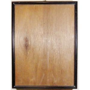 額縁 外寸31x40x2cm 内寸 27.9x36.9cm 木製 ガラス付き 掘出し市 Ff13|himalj