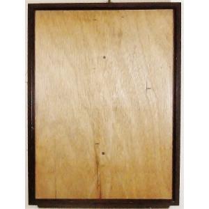額縁 外寸31.1x40.3x2.2cm 内寸 27.9x37.1cm 木製 ガラス付き 掘出し市 Ff14|himalj