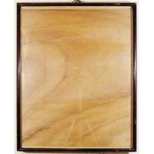 額縁 外寸37x44.6x2.3cm 内寸 33.6x41.2cm 木製 ガラス付き 掘出し市 Ff16|himalj