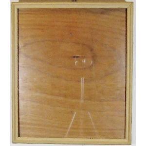 額縁 外寸 34x39x2.7cm 内寸 30.5x35.5cm 木製 ガラス付き 掘出し市 Ff27|himalj
