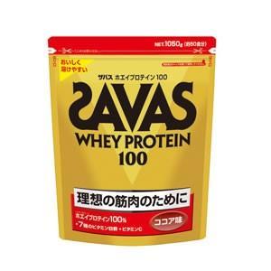 ザバス サプリメント ホエイプロテイン100 ココア味 1,050g CZ7427 SAVAS|himaraya-bb