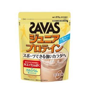 ザバス サプリメント プロテイン ジュニアプロテイン ココア味 210g 約15食分 CT1022 SAVAS|himaraya-bb