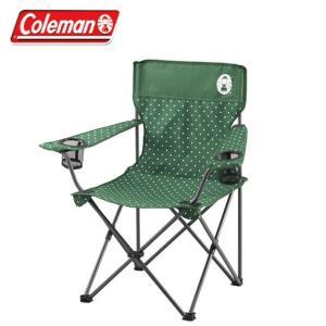 コールマン アウトドアチェア リゾートチェアグリーンドット 2000026735 coleman bb|himaraya-bb