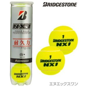 ブリヂストン(BRIDGESTONE) NX1 4球入り (NX-1) BBANX1 硬式テニスボー...