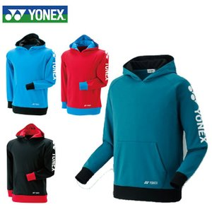 ヨネックス(YONEX) スウェットパーカー 32012 テニスウェア バドミントンウェア メンズ レディース|himaraya-rkt