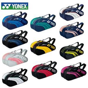 ヨネックス(YONEX) (ラケット6本収納可能) TEAM series ラケットバッグ6 リュック付 BAG1931R ラケットバッグ リュック テニスバッグ