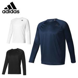アディダス 機能Tシャツ 長袖 メンズ D2M トレーニングロングスリーブTシャツ BUM89 adidas sw
