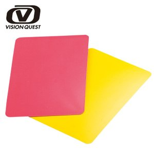 ビジョンクエスト VISION QUEST サッカー レフリー用品 レッド/イエローカード VQSC82|himaraya