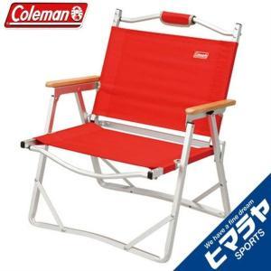 コールマン アウトドアチェア コンパクトフォールディングチェア レッド 170-7670 coleman|himaraya