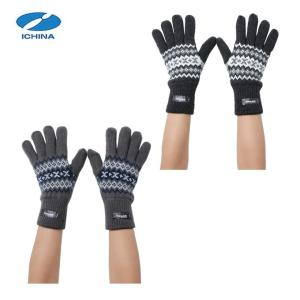 イチーナ ICHINA  手袋 メンズ ニットシンサレート入り グローブ IC-3251|himaraya