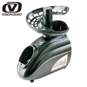 ビジョンクエスト VISION QUEST テニス 練習器 ソフトテニス専用トスマシーン 12VQTM400