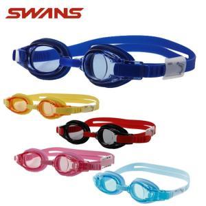 スワンズ SWANS クッション付き スイミングゴーグル ジュニア キッズ用 スイミングゴーグル SJ-8 himaraya