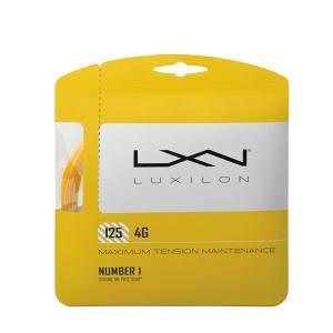 ルキシロン テニスガット 硬式 単張り 4G 125 フォージー WRZ997110 LUXILON