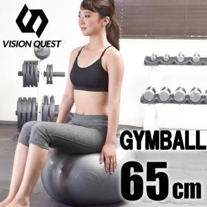 ビジョンクエスト VISION QUEST バランスボール 65cm SI VQGBN004 ジムボール ヨガボール 体幹トレーニング|himaraya