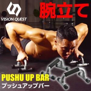 プッシュアップバー VQTTN013 筋トレ フィットネス 腕立て伏せ トレーニング器具 ビジョンクエスト VISION QUEST|himaraya