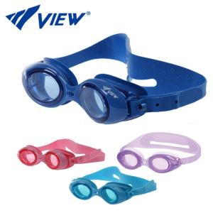 ビュー VIEW 競泳 ジュニア スイミングゴーグル Enzy V422J