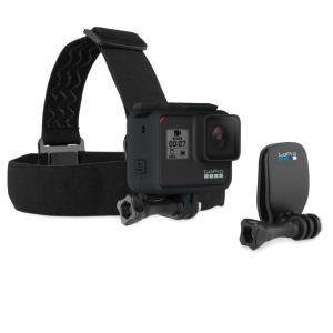 ゴープロ GoPro 多目的カメラアクセサリー ヘッドバンド + QuickClip ACHOM-001|himaraya