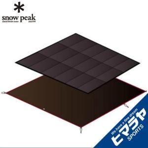 スノーピーク インナーマットグランドシートセット アメニティドームLマットシートセット SET-121 snow peak|himaraya