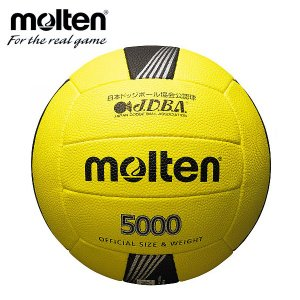 モルテン molten ドッジボール 3号 公式試合球 D3C5000|himaraya