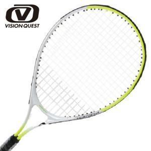 硬式テニスラケット 張り上げ済み ジュニア アルミ×アルミ JR23インチ  14VQTJR23 ビジョンクエスト VISION QUEST