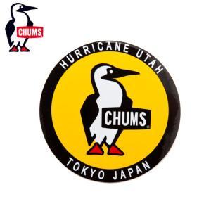 チャムス CHUMS アウトドア アクセサリー ステッカー ラウンドブービーバード CH62-0156