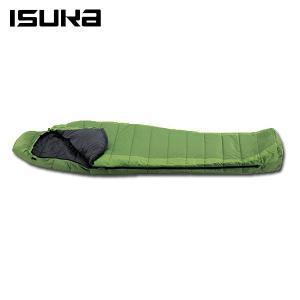 イスカ ISUKA マミー型シュラフ ウルトラライト グリーン 105202 himaraya