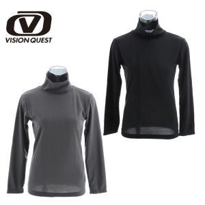 ビジョンクエスト VISION QUEST インナーシャツ レディース 長袖タートルネック VQ430109E11|himaraya