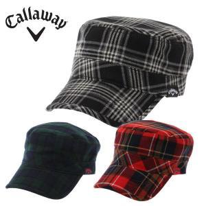 【2014年秋冬モデル】 キャロウェイ(Callaway) Mフラノチェックワークキャップ (CheckWorkCap14FW) ゴルフ 帽子 キャップ(メンズ)