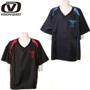 ビジョンクエスト VISION QUEST バレーボール シャツ ウォームアップ ジュニア 半袖バレーピステ VQ570504D06