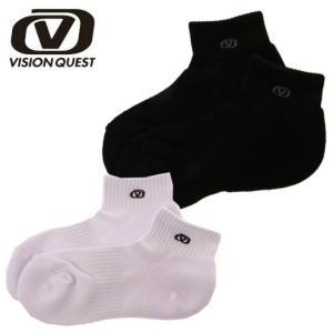 ビジョンクエスト(VISION QUEST) バスケットボール メンズ レディース ショートソックス VQ570407D01|himaraya