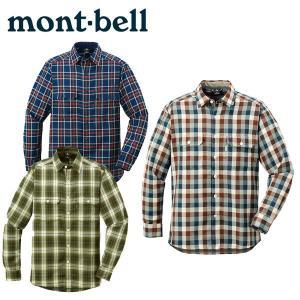 モンベル mont-bell トレッキング シャツ メンズ WIC.O.D.シャツ Men's 1104991