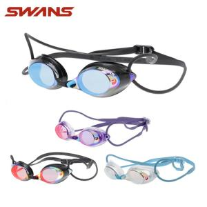 スワンズ SWANS FINA承認 クッション付き スイミングゴーグル ミラーレンズ メンズ レディース レーシングミラーゴーグル SRX-M PAF himaraya