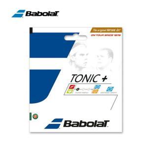 バボラ テニスガット 硬式 単張り ナチュラル トニックプラス ボールフィール ナチュラル BA20...