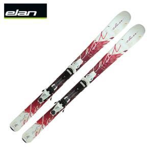 エラン ELAN スキー板 レディース セット金具付 ZEST QT +EL7.5 AC QT 【金具付き 取付料無料】|himaraya