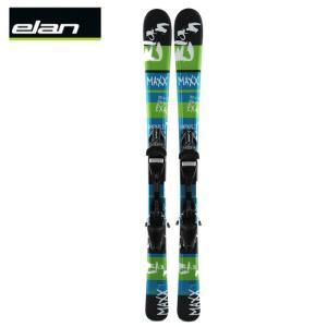 エラン ELAN ジュニアスキー板 MAXX QT +EL4.5AC QT BK 【金具付き 取付料無料】【13-14 2014モデル】|himaraya