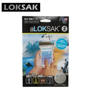 ロックサック LOKSAK アウトドアアクセサリー 防水ケース スマホ用L ALOKD2-3.75X7