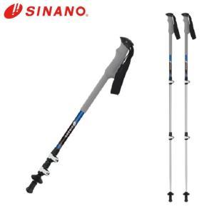 シナノ SINANO トレッキング ステッキ I字型 2本組 ロングトレイル125 ロングトレイル125|himaraya