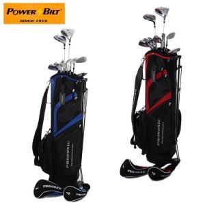 パワービルト POWER BILT  セットクラブ POWERBILT メンズセット HBS-5004 M-SET 2x6+PT+CB|himaraya