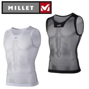 ミレー(MILLET) アンダーウェア(メンズ) ノースリーブ ドライナミック メッシュ NS クルー  MIV01248