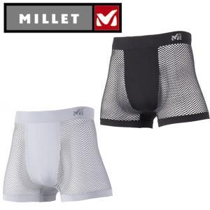 ミレー MILLET アンダーウェア(メンズ) ドライナミック メッシュ ボクサー  MIV01250