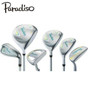 パラディーゾ Paradiso Paradiso CL ゴルフクラブ ハーフセット 7本セット  レディース|himaraya