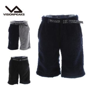 ビジョンピークス VISIONPEAKS  ボアフリースハーフパンツ メンズ VP170304F01|himaraya