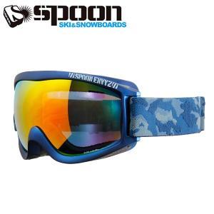 スプーン SPOON ENVY2 MAT.M.NV SDP-661-2 スキー スノーボード ゴーグル メンズ レディース 2016年 ウィンタースノーゴーグル|himaraya