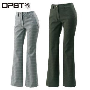 オプスト OPST ゴルフウェア レディース チェックパンツ OP220407E08|himaraya