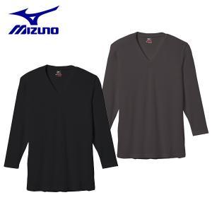 ミズノ mizuno ブレスサーモエブリ Vネック長袖シャツ C2JA5601 トレッキング アンダーウェア メンズ